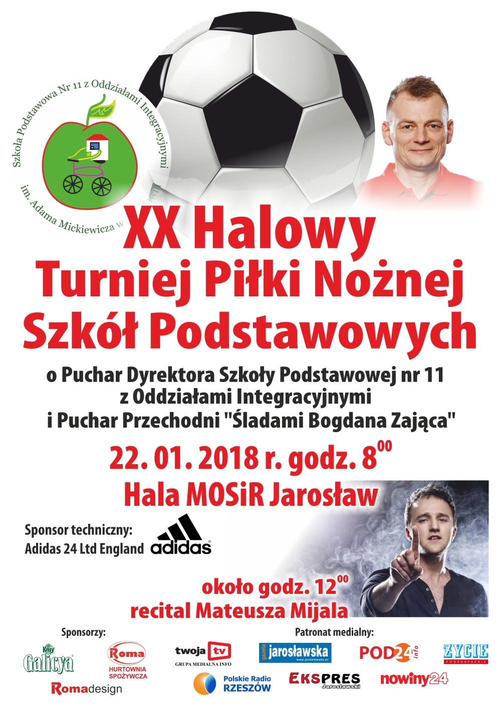 XX Halowy Turniej  Piłki Nożnej