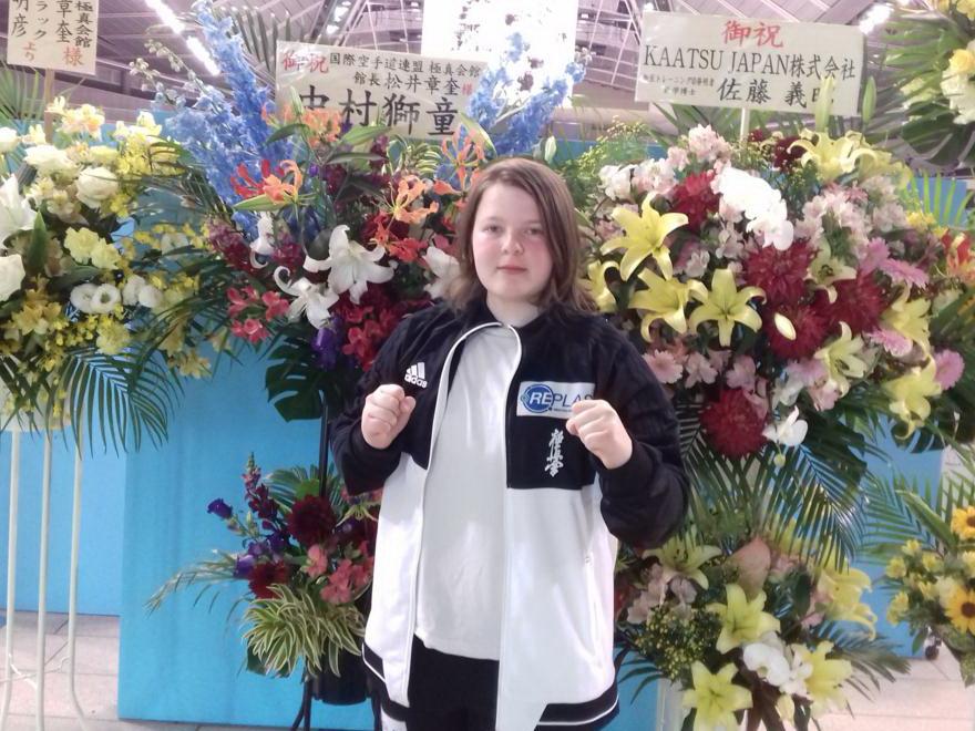 Sukces uczennicy ZSDGiL na Mistrzostwach  Świata w Japonii!