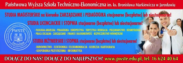 PWSTE w Jarosławiu